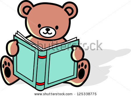 Bears Reading Stock Vectors, Images & Vector Art.