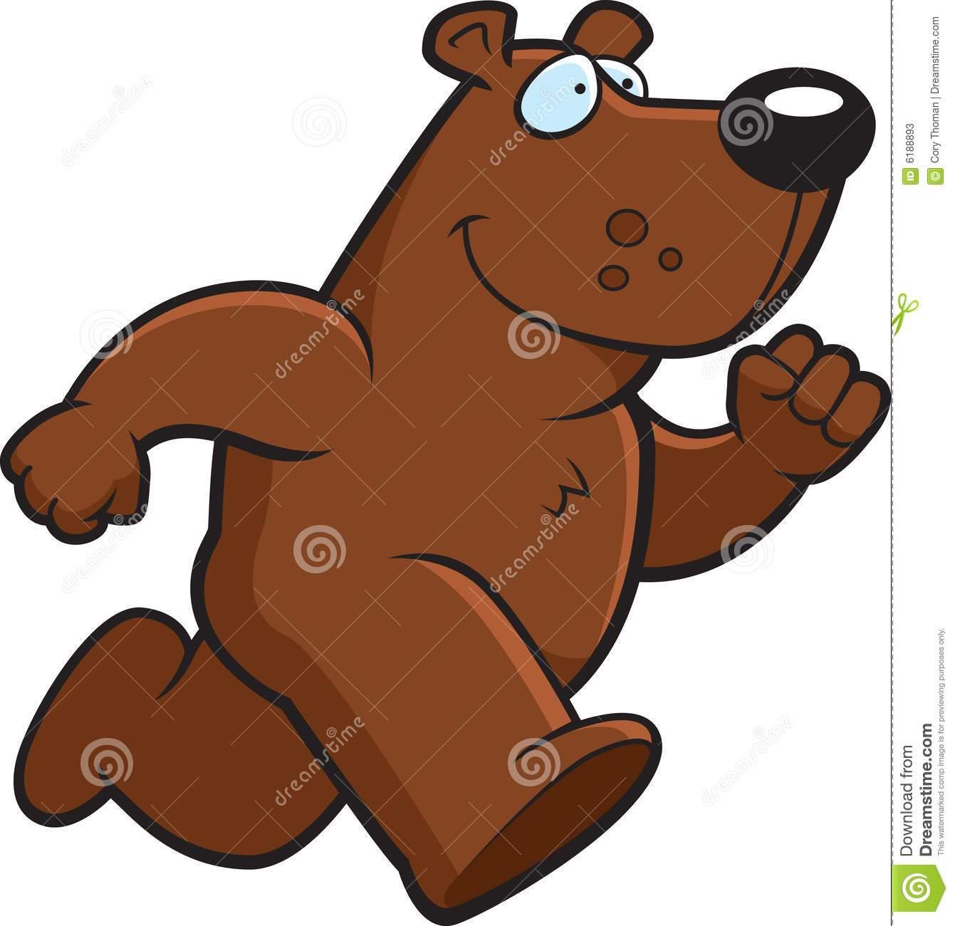Bear running clipart » Clipart Portal.