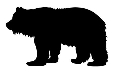 18,799 Bear Silhouette Stock Vector Illustration And Royalty Free.
