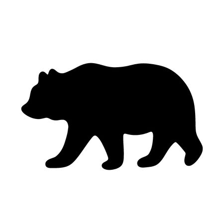 Wondrous Black Bear Silhouette Clip Art Interesting 8 254 Stock.