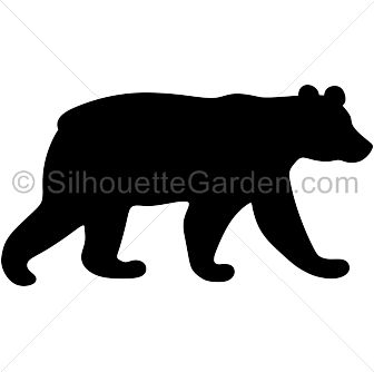 Bear Silhouette Clip Art at GetDrawings.com.