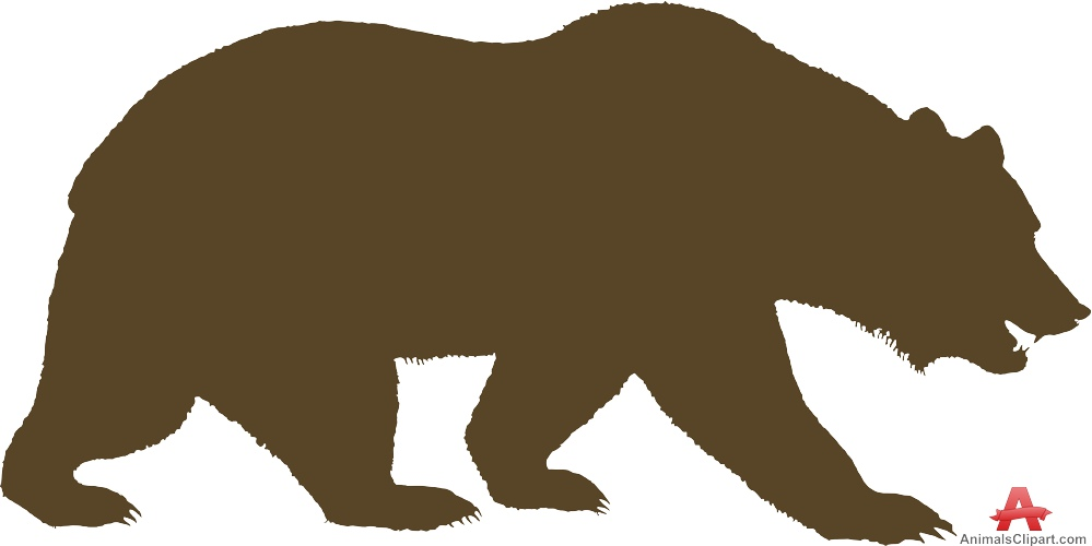 California Bear Clipart.