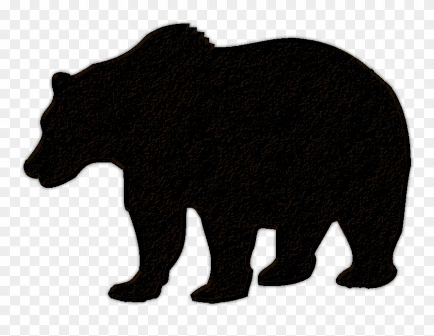Clip Royalty Free Library Black Bear Cub Clipart.