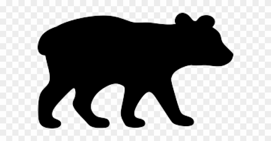 Black Bear Clipart Wildlife.