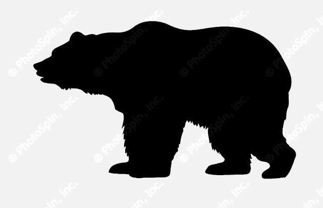 Free Bear Silhouette, Download Free Clip Art, Free Clip Art.