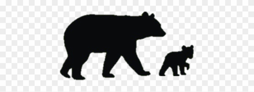 Bear Silhouette Clip Art At Getdrawings.