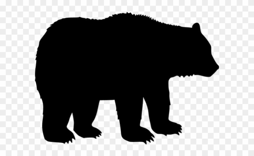 Black Bear Clipart Transparent.