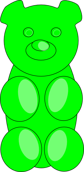 Gummy Bear Clip Art & Gummy Bear Clip Art Clip Art Images.