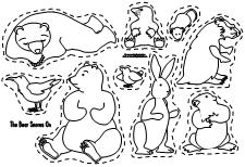 Bear Snores On Coloring Pages.