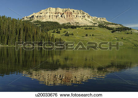 Stock Images of WY, Wyoming, Beartooth Scenic Highway, Beartooth.