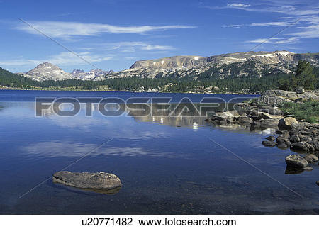 Stock Photo of WY, Wyoming, Shoshone National Forest, Beartooth.