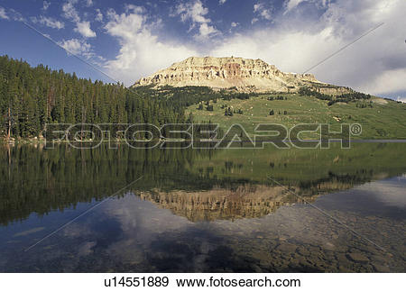 Stock Photograph of Shoshone National Forest, WY, Wyoming.