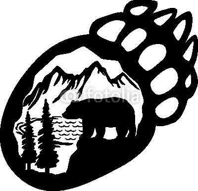 Bear Tracks Clip Art Google Images Search Engine.