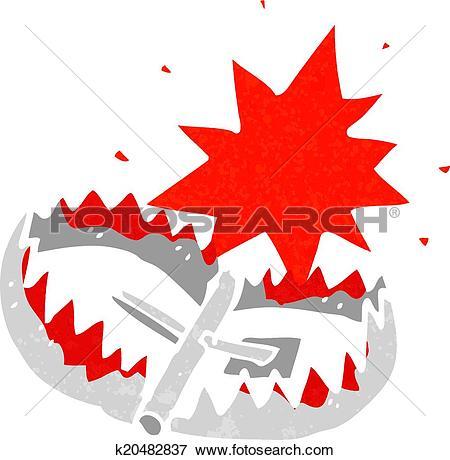 Bear trap Clipart Vector Graphics. 99 bear trap EPS clip art.