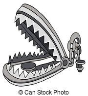 Bear trap Clip Art Vector and Illustration. 108 Bear trap clipart.
