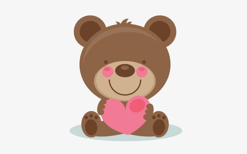 Cute Valentine Bear Clipart.