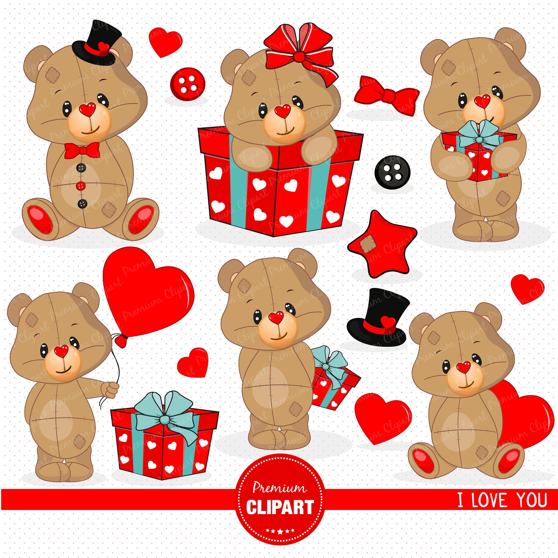 Valentine clipart, Baby boy clipart, Teddy bear clipart, Teddy bear,  Valentines day, Teddy clipart, Valentine, Love clipart.