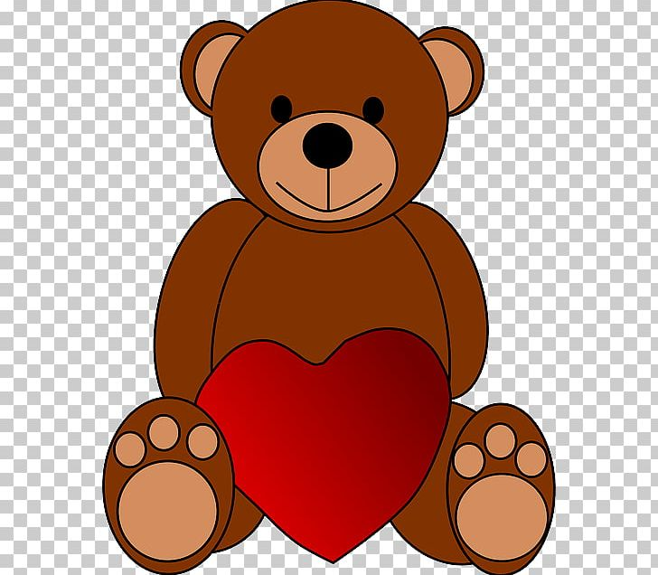 Teddy Bear Valentine's Day PNG, Clipart, Animals, Bear, Carnivoran.