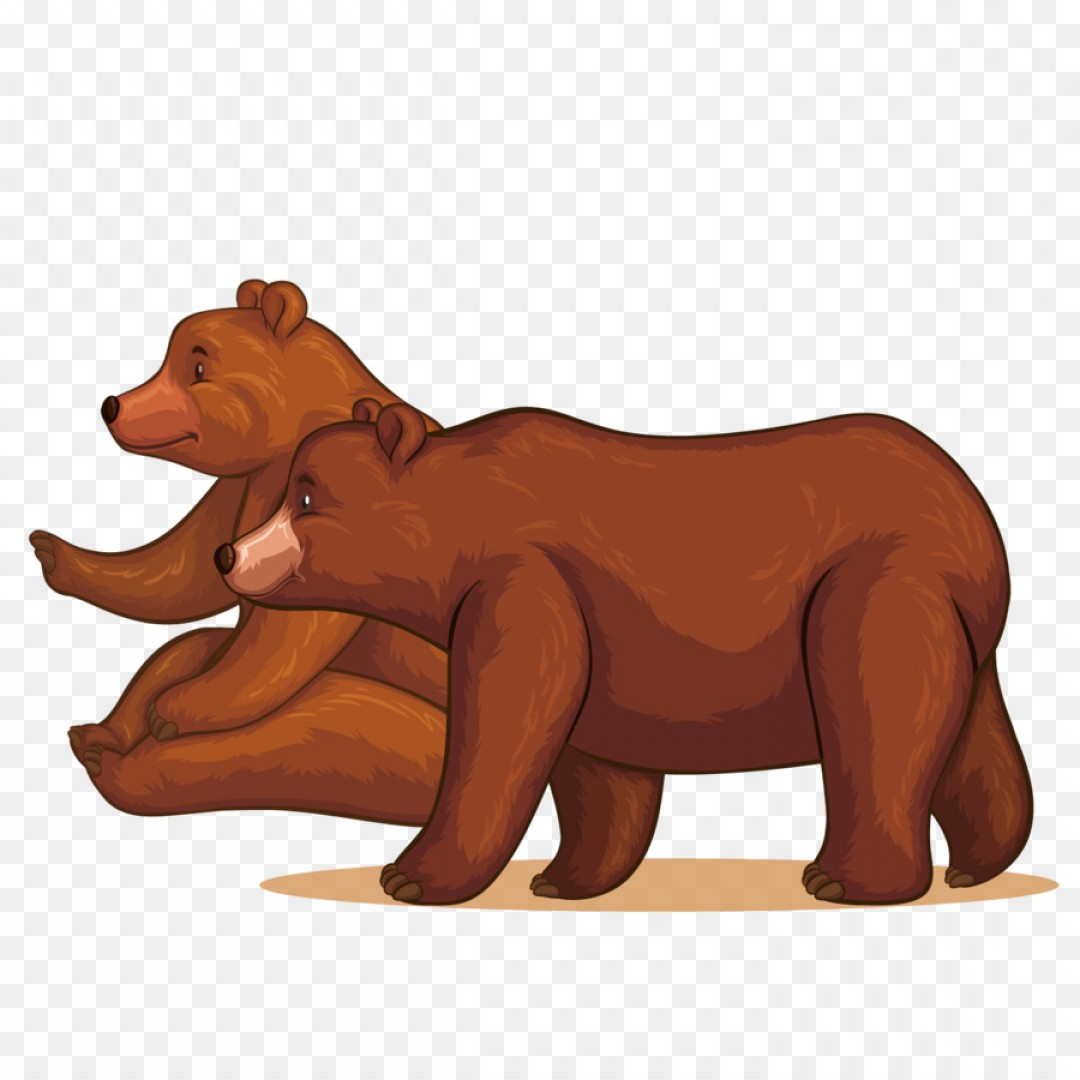 Png Lion Bear Vector Two Bears.