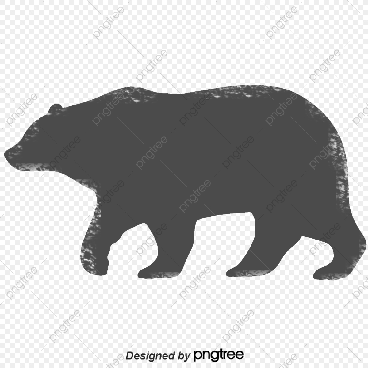 Black Bear Vector, Black Vector, Bear Vector, Stick Figure PNG and.