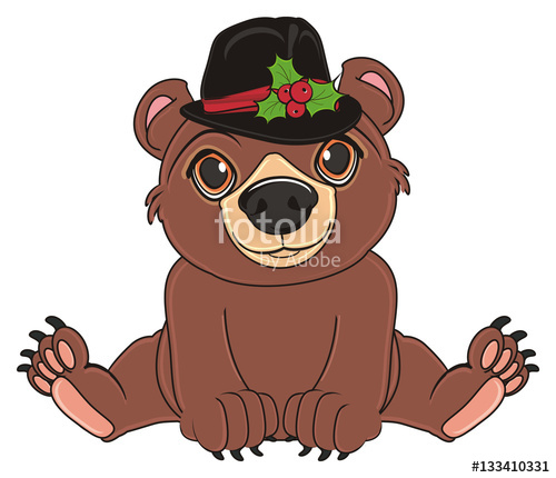 animal, bear, toy, cartoon, brown, grizzly, illustration.