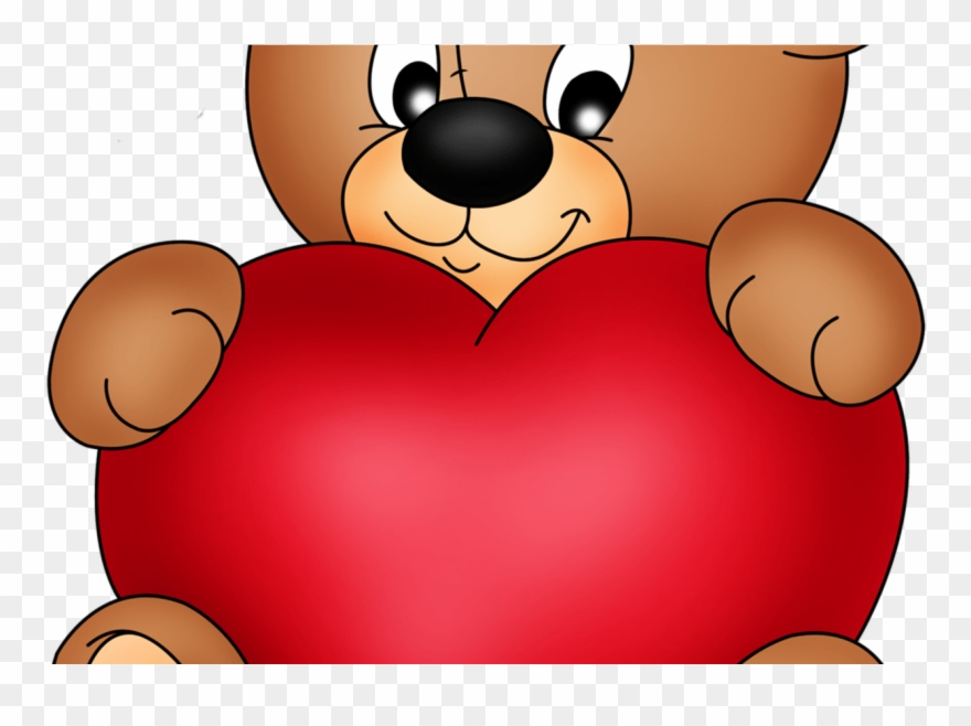 Brown Teddy With Red Heart Png Clipart Gallery Yopriceville.