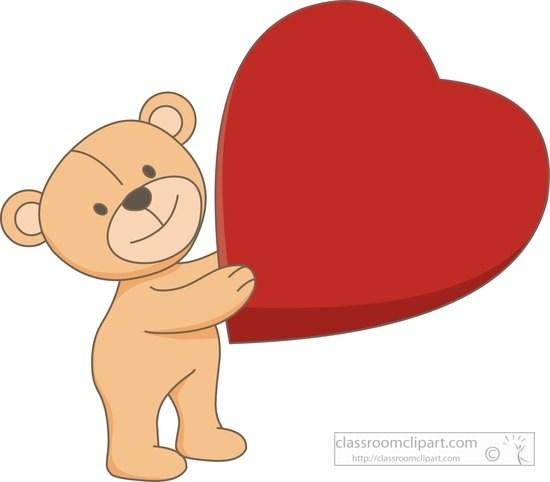 Bear with heart clipart 2 » Clipart Portal.