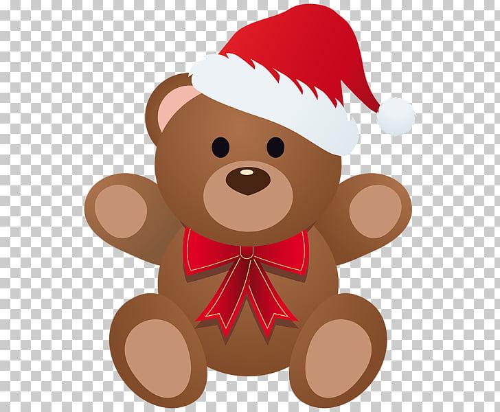 Teddy bear Christmas , bear PNG clipart.