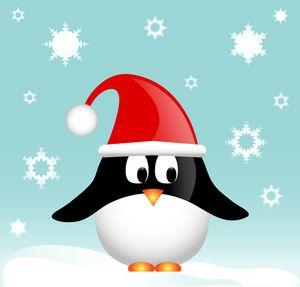 Free Penguin Clip Art Image.