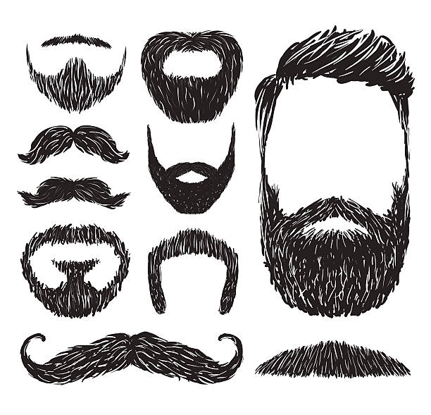 Best Beard Illustrations, Royalty.