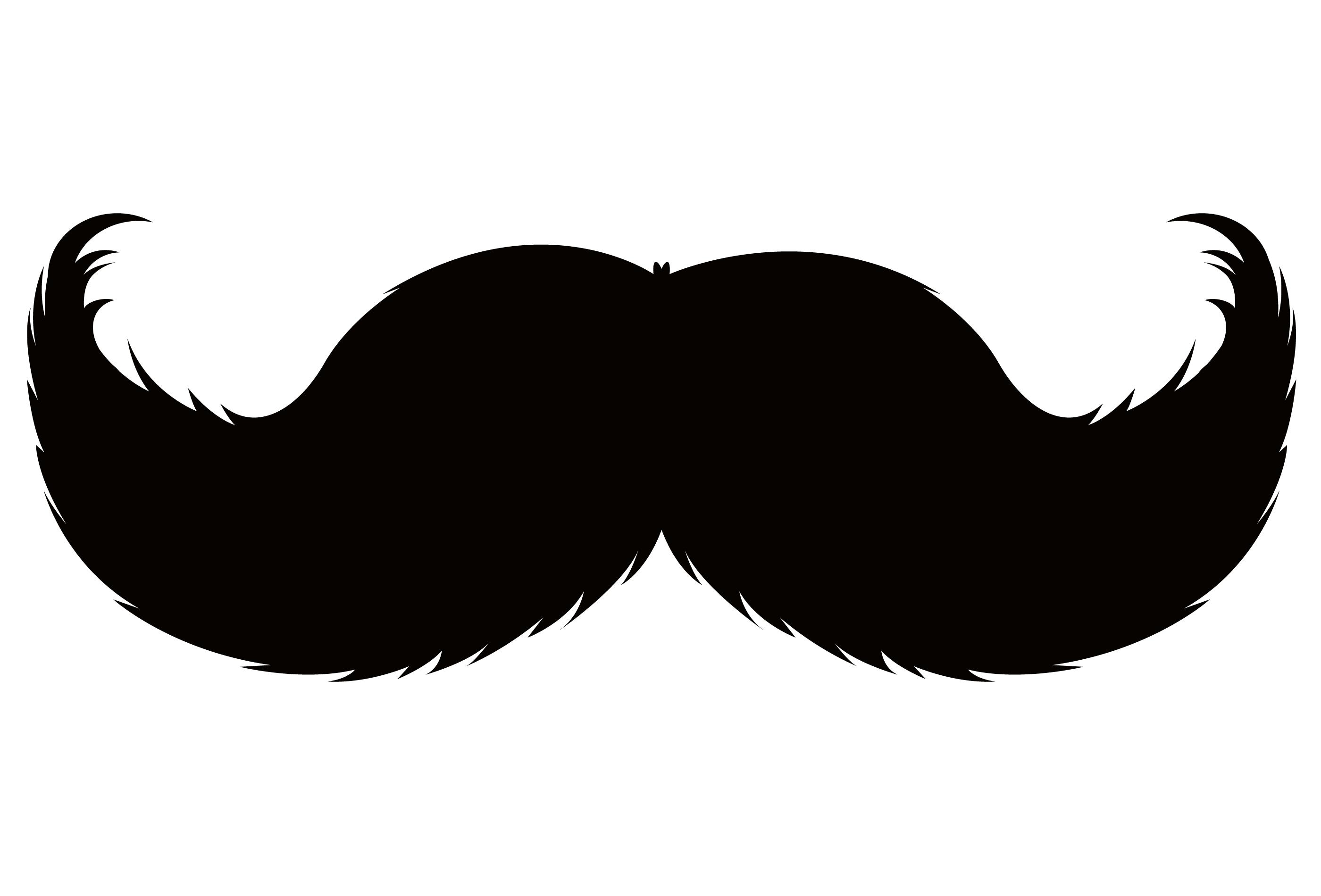 Handlebar moustache Pencil moustache Beard Clip art.