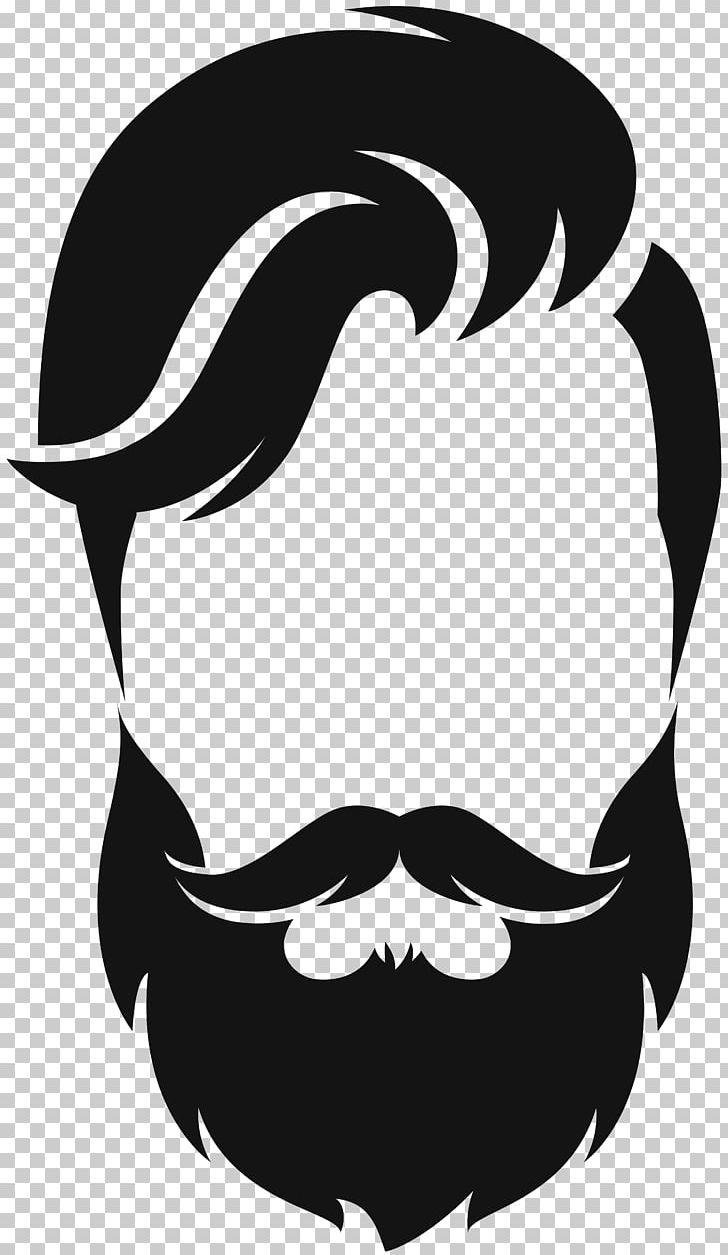 Silhouette Beard Moustache PNG, Clipart, Animals, Artwork, Beard.