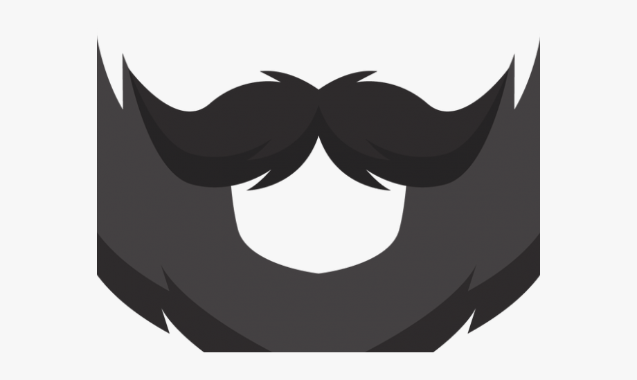 Beard Clipart Stock.