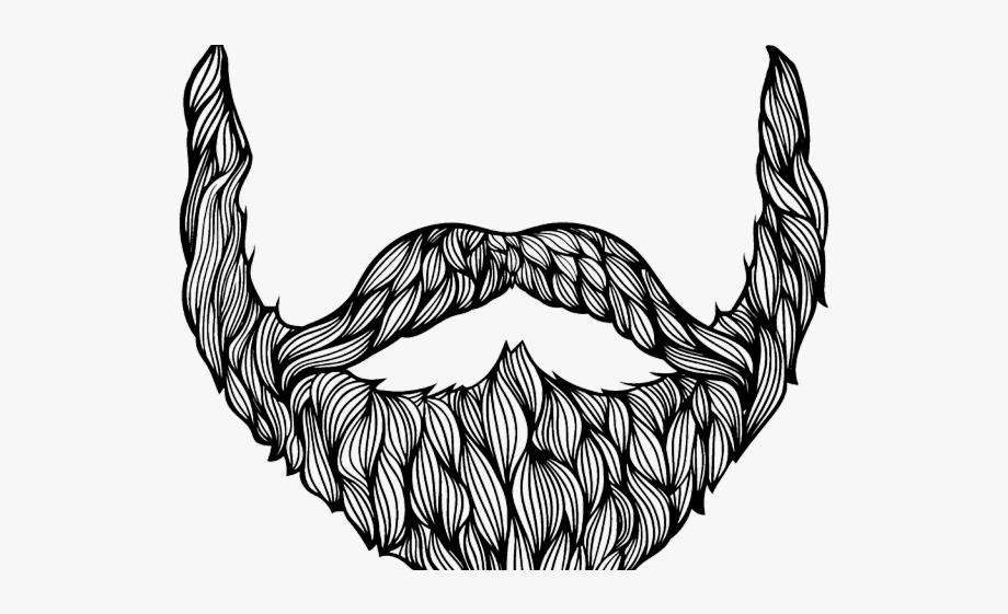 Drawn Beard Clipart.