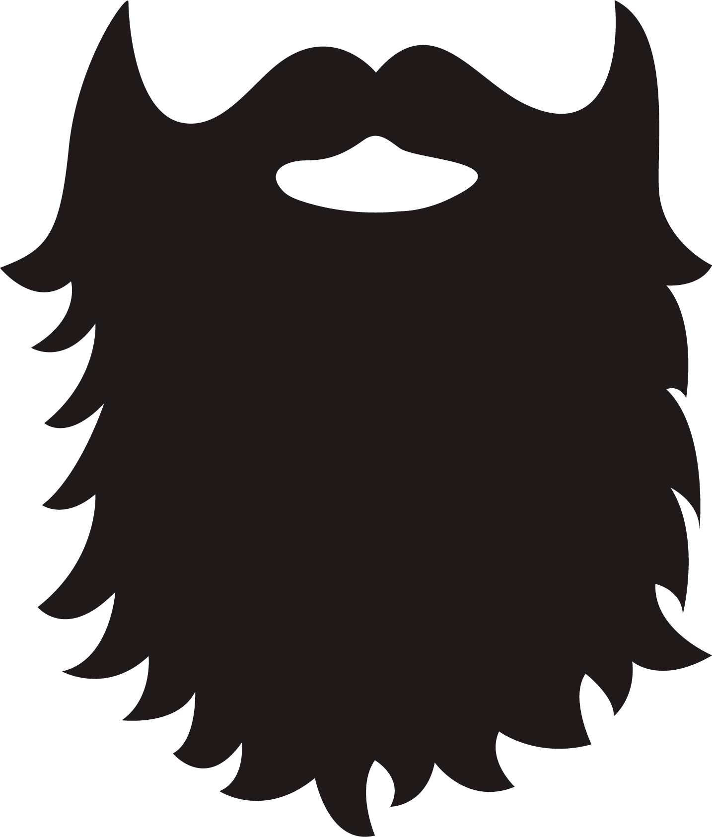 Beard Clipart Free.
