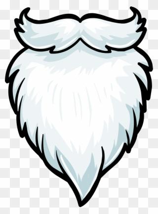 Free PNG Santa Beard Clip Art Download.