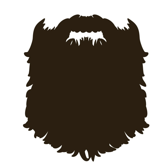 Duck Dynasty Beard Clipart.