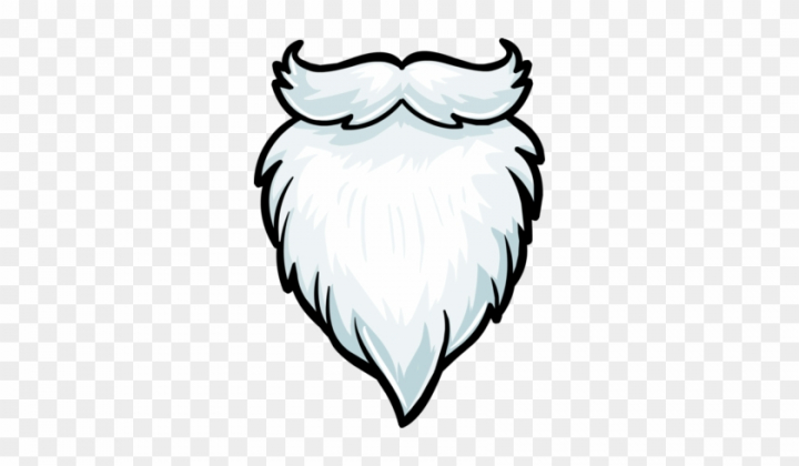 Santa Beard Clipart Beard Clipart 1195 1618.
