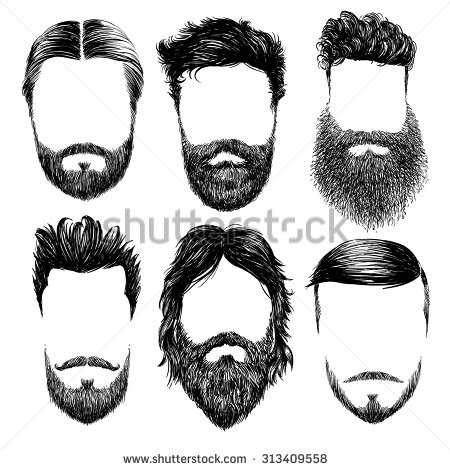 1000+ images about Draw Beards / Moustaches / Facial Hair / Body.