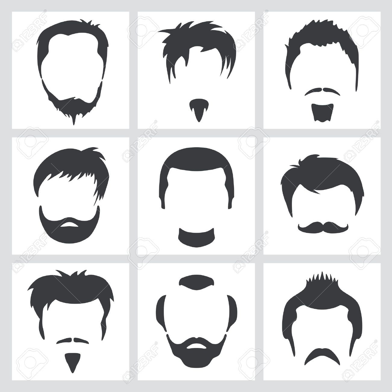 1,697 Goatee Cliparts, Stock Vector And Royalty Free Goatee.