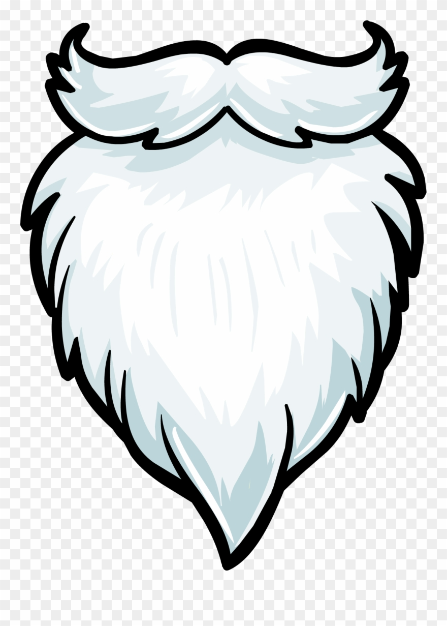 Beard Clipart Plain.