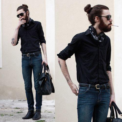 beard man bun clipart - Clipground 5e3f5e6d51bf