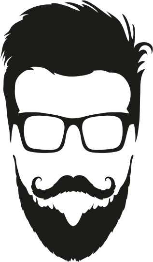 Beard PNG, Male Beard Mustaches Free Clipart Download.