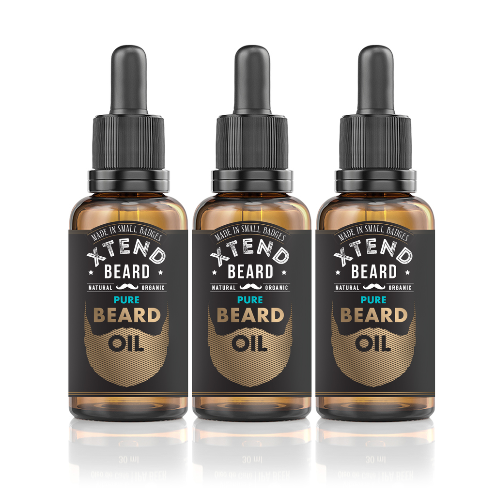 Pure Beard Oil 3.