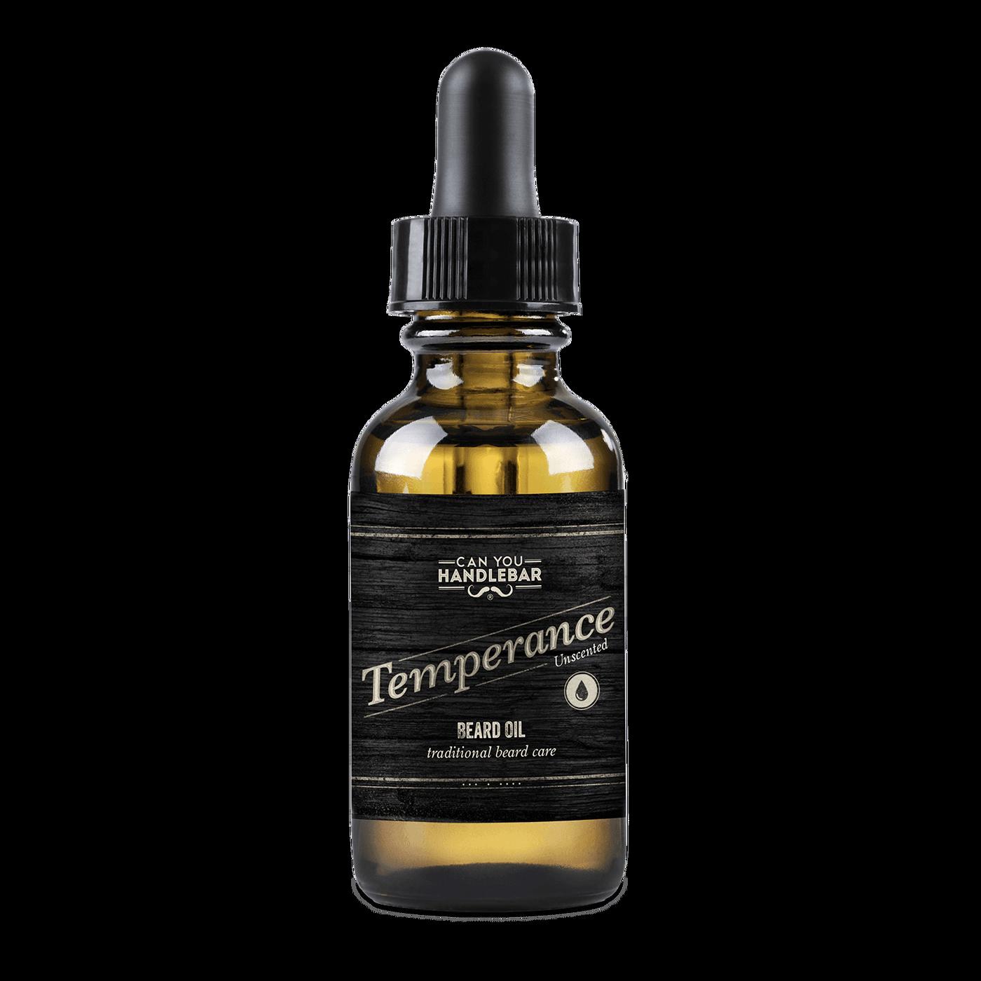 Temperance Unscented Beard Oil.