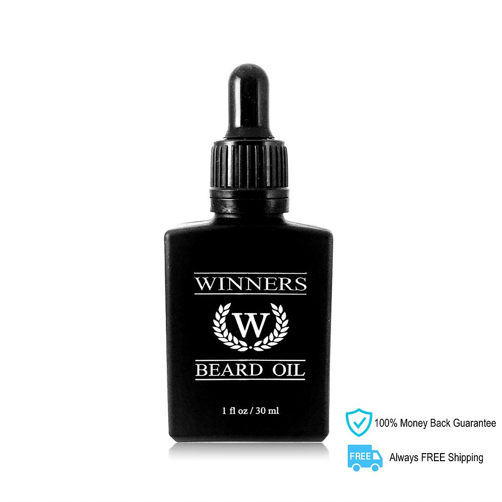 WINNERS Elite Beard Oil (Caffeinated).
