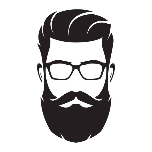 Best Beard Illustrations, Royalty.