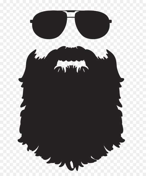 Beard Silhouette Clip art.