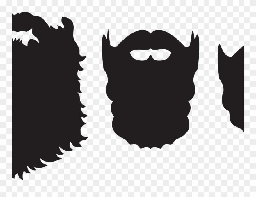 Beard Clipart Beard Silhouette.
