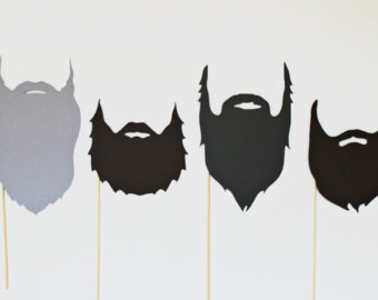 Clip art beards.